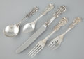 Silver & Vertu:Flatware, A FIFTY PIECE AMERICAN SILVER FLATWARE SERVICE . Reed & Barton, Taunton, Massachusetts, circa 1907. Marks: (eagle) R (li... (Total: 50 Items)