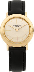 Timepieces:Wristwatch, Patek Philippe Ref. 2595 Gent's Gold Wristwatch, circa 1968. ...