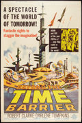"Movie Posters:Science Fiction, Beyond the Time Barrier (American International, 1959). Poster (40""X 60""). Science Fiction.. ..."