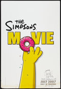 "Movie Posters:Animated, The Simpsons Movie (20th Century Fox, 2007). AutographedInternational One Sheet (27"" X 40"") Style A. Animated.. ..."