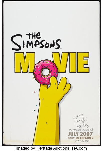 The Simpsons Movie 20th Century Fox 2007 Autographed Lot 54361 Heritage Auctions