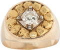 Western Expansion:Goldrush, Gold Nugget Ring....