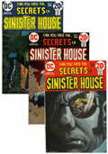 Bronze Age (1970-1979):Horror, Secrets of Sinister House #5-18 Group (DC, 1972-74) Condition:Average VF-.... (Total: 14 Comic Books)