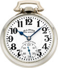 Timepieces:Pocket (post 1900), Illinois Very Fine 23 Jewel 163A Elinvar Bunn Special, circa 1931....