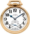 Timepieces:Pocket (post 1900), Illinois 23 Jewel Sixty Hour 163 Elinvar Bunn Special, circa 1931. ...