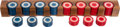Miscellaneous:Gaming Chips, Set of Ivory Poker Chips.... (Total: 111 Items)