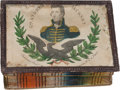Political:Miscellaneous Political, Andrew Jackson: A Rare and Colorful Sewing Box with Portrait Lid. ...