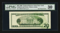 Error Notes:Ink Smears, Fr. 2083-B $20 1996 Federal Reserve Note. PMG Very Fine 30.. ...
