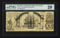 Confederate Notes:1861 Issues, CT18 Counterfeit $20 1861.. ...