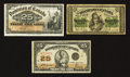 Canadian Currency: , Shinplaster Type Set.. ... (Total: 3 notes)