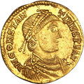Ancients:Roman Imperial, Ancients: West Roman Empire. Constantine III (AD 407-411). AVsolidus (4.49 gm). ...