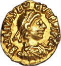 Ancients:Roman Imperial, Ancients: Severus III (AD 461-465). AV tremissis (1.43 gm). ...