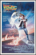 """Movie Posters:Science Fiction, Back to the Future (Universal, 1985). One Sheet (27"""" X 41"""")Advance. Science Fiction.. ..."""