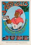Original Comic Art:Miscellaneous, Rick Griffin Aunt Jemima/Magic Show Big Brother and theHolding Company Avalon Ballroom Concert Poster FD-65 (Fami...