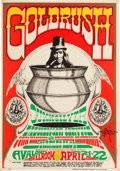 Original Comic Art:Miscellaneous, Rick Griffin-signed Quicksilver Messenger ServicePot/Goldrush Avalon Ballroom Concert Poster FD-58 (FamilyDog, 1...