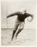 Football Collectibles:Photos, Circa 1920's Red Grange Oversized Original Photograph....