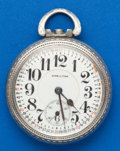 Timepieces:Pocket (post 1900), Hamilton, 21 Jewel, 992 Parts Watch. ...