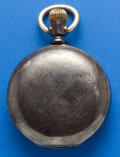 Timepieces:Pocket (post 1900), Elgin 4 oz. 18 Size, Coin Hunters Case. ...