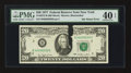 Error Notes:Ink Smears, Fr. 2072-B $20 1977 Federal Reserve Note. PMG Extremely Fine 40EPQ.. ...
