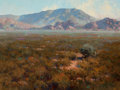 Paintings, PROPERTY OF A PROMINENT TEXAS COLLECTOR. JAMES REYNOLDS (American, 1926-2010). Near Wilcox, Arizona, 1986. Oil on canv...