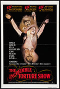"""Movie Posters:Horror, The Incredible Torture Show (AFDC, 1976). One Sheet (27"""" X 41"""") Flat-Folded. Horror.. ..."""