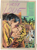 Original Comic Art:Miscellaneous, Warren Kremer First Love Illustrated #43 Cover PreliminarySketch Original Art (Harvey, 1954)....