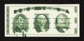 Miscellaneous:Other, Giori Test Note Washington Head at Center Face. Gem CrispUncirculated.. ...