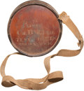 Military & Patriotic:Civil War, Great Civil War ID'd Confederate Cedar Wood Canteen....