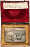 Photography:Daguerreotypes, The Most Historic California Daguerreotype We've Ever Offered withImpeccable Provenance and Supporting Material... (Total: 5 Items)