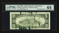 Error Notes:Ink Smears, Fr. 2028-A $10 1988A Federal Reserve Note. PMG Choice Uncirculated64.. ...