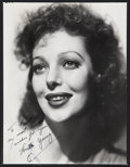 """Movie Posters:Miscellaneous, Loretta Young (1970s). Autographed Re-Strike Photo (11"""" X 14""""). Miscellaneous.. ..."""