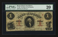 Obsoletes By State:Rhode Island, Providence, RI- Bank of the Republic $1 Feb. 1, 1856. ...