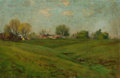 Texas:Early Texas Art - Impressionists, ROBERT JENKINS ONDERDONK (American, 1853-1917). Quincy,Illinois , 1900. Oil on artist's board. 8 x 12 inches (20.3 x30...