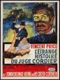 """Movie Posters:Horror, Diary of a Madman (United Artists, 1963). Belgian (14"""" X 18.5"""").Horror.. ..."""
