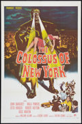 "Movie Posters:Science Fiction, The Colossus of New York (Paramount, 1958). One Sheet (27"" X 41""). Science Fiction.. ..."