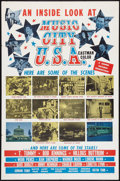 """Movie Posters:Documentary, Music City U.S.A. Lot (Gemini, 1966). One Sheets (3) (27"""" X 41""""). Documentary.. ... (Total: 3 Items)"""