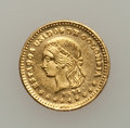 Colombia: , Colombia: Republic gold Peso 1872, ...