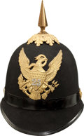 Military & Patriotic:Indian Wars, Immaculate U.S. Model 1881 Enlisted Infantry Helmet....
