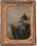 Military & Patriotic:Civil War, One of the Nicest Identified Civil War Lookout Mountain Views We've Ever Catalogued...