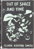 Books:Hardcover, Clark Ashton Smith Out of Space and Time (Arkham House, 1942)....