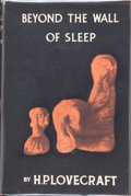 Books:Hardcover, H. P. Lovecraft Beyond the Wall of Sleep (Arkham House,1943)....
