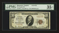 National Bank Notes:Virginia, Manassas, VA - $10 1929 Ty. 1 The Peoples NB Ch. # 6748. ...