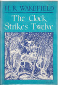 Books:Hardcover, H. R. Wakefield The Clock Strikes Twelve (Arkham House, 1946)....