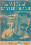 Books:Hardcover, Donald Wandrei The Web of Easter Island (Arkham House, 1948)....