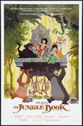 "Movie Posters:Animated, The Jungle Book Lot (Buena Vista, R-1984). One Sheets (2) (27"" X41""), and Video Poster (31"" X 37""). Animated.. ... (Total: 3 Items)"