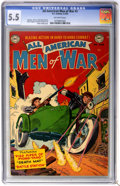 Golden Age (1938-1955):War, All-American Men of War #3 (DC, 1953) CGC FN- 5.5 Off-whitepages....