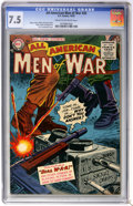 Golden Age (1938-1955):War, All-American Men of War #26 (DC, 1955) CGC VF- 7.5 Cream tooff-white pages....