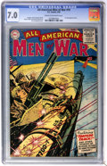 Golden Age (1938-1955):War, All-American Men of War #19 (DC, 1955) CGC FN/VF 7.0 Cream tooff-white pages....