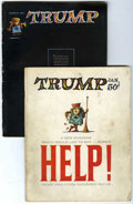 Silver Age (1956-1969):Humor, Trump #1 and 2 Group (HMH Publishing, 1957) Condition: Average GD+.... (Total: 2 Comic Books)