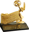 Movie/TV Memorabilia:Awards, Dick Gregory Special Emmy Award. An Academy of Television Arts & Sciences award presented to legendary comedian, author, and... (Total: 1 Item)